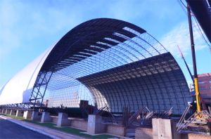 Steel Space Frame Coal Storages Construction Building Dome Roof pictures & photos