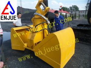Hydraulic Excavator Grab Bucket with Clamshell pictures & photos