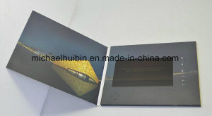 Christmas Promotion Gift 7′′ LCD Screen Video Greeting Brochure (VC-070) pictures & photos