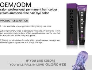 Italian Formulation Good Quality None Irritation Good Price Hair Color pictures & photos