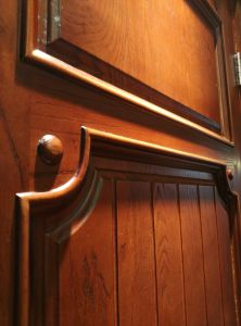 Solid Wood Door for Interior (DS-024) pictures & photos