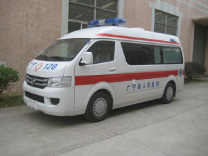 Ambulance LHD, New Ambulance Sale, Baolong Ambulance Car for Sale / (TBL5039XJH)