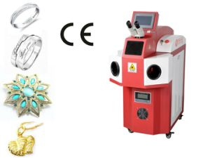 Golden Silver Titanium and Alloy Welding Jewelry Laser Spot Welder for Sale pictures & photos