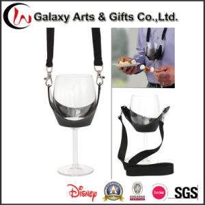 Polyester Material Drinking Wine Holder Lanyard