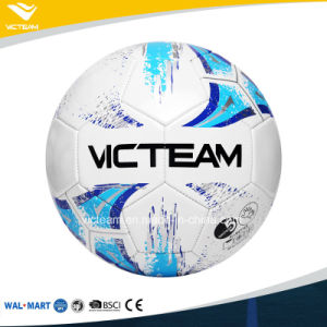 PVC Material Size 5 Machine Stitched Football pictures & photos