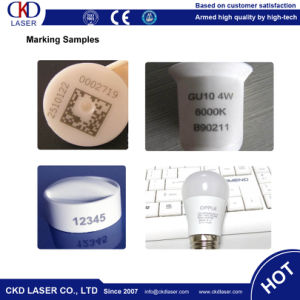 Rotary Fiber Laser Engraving Machine Marker for LED Bulb pictures & photos