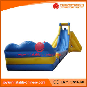 China Inflatable Jumping Bouncy Super Water Slide with Pool (T11-095) pictures & photos