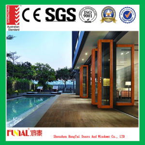Customized Size Aluminum Alloy Door/Aluminum Bifold Doors pictures & photos