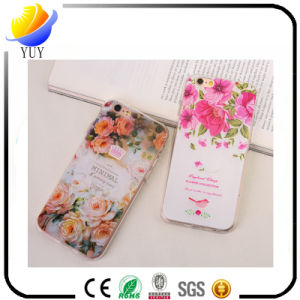 2017 New Design TPU Relief Rose Flowers Mobile Phone Case for iPhone (YUY-PL-A11) pictures & photos