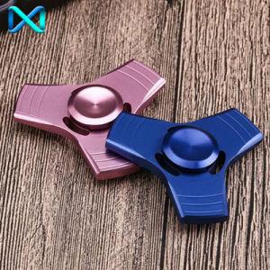 Aluminum Tri Fidget Ceramic Bearing Desk Focus Toy EDC Finger Hand Spinner pictures & photos