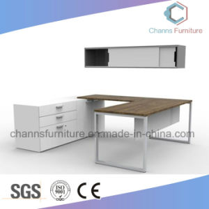 Modern Furniture Simple Office Table with White Credenza pictures & photos