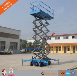 10m Lifting Table Mobile Hydraulic Scissor Lift Platform pictures & photos