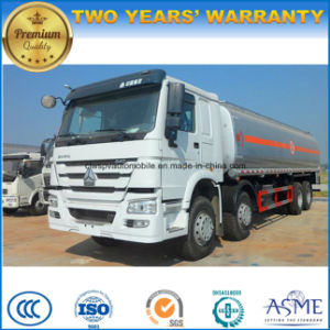 Sinotruk HOWO 30 Tons Fuel Truck 30000L Tank Truck Price pictures & photos