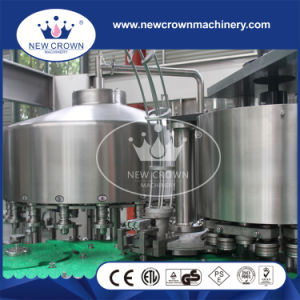 Monoblock 2 in 1 Metal Tin Can Filling Seaming Machine for Juice and Water pictures & photos