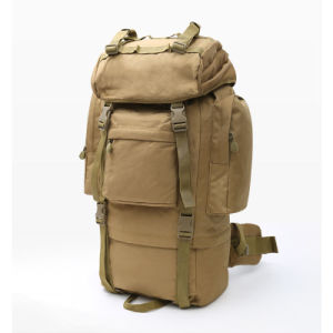 70L Army Style Outdoor Backpack for Hiking pictures & photos