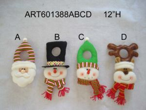 "9""Hx8""L Snowman Family-2asst-Christmas Decoration pictures & photos"
