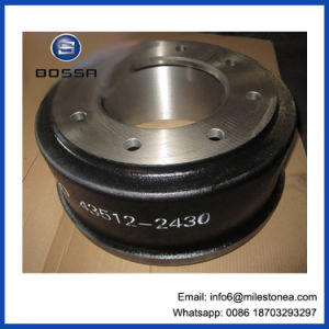 Good Quality Brake Drum Use for Hino Truck 43512-2430 pictures & photos