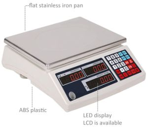 LED Display AC110V/220V Electronic Counting Weighing Scale pictures & photos
