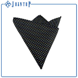 Custom Fashion Woven Silk Pocket Square/Handkerchief pictures & photos