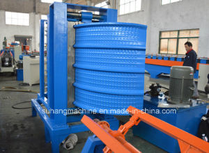 Steel Silo Grain Corrugated Side Panel Roll Forming Machine pictures & photos