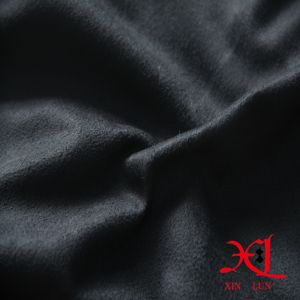 Soft Feel Elastic Polyester Suede Fabric for Garment/Women Dress pictures & photos
