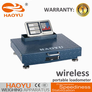 Portable Wireless Digital Floor Truck Bench Platform Weighing Scale pictures & photos