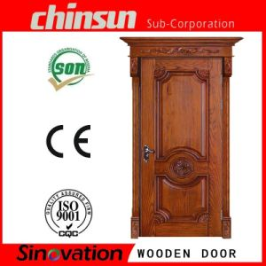 Classical Split Real Wood Door pictures & photos