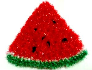 Crochet Watermelon Slice Coaster Scrubbies Scrubby Kitchen Dish Pot Scrubber pictures & photos