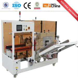 Automatic Carton Forming and Button Sealing Machine for Sale pictures & photos