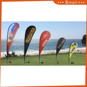 Customized Beach Flag/Flag Banner/ Teardrop Beach Feather Flag pictures & photos