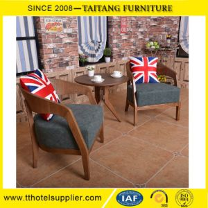 Cheap Wood 2 Seater Fashion Dining Table and Chair pictures & photos