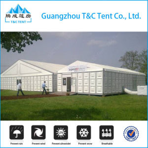 500 People Aluminum Wedding Hall Tent with ABS Hard Wall and High Peak pictures & photos
