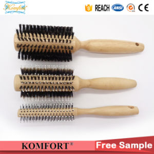 Fsc Wood Boar Bristle Detangling Hair Brushes Wholesale (JMFH-122) pictures & photos