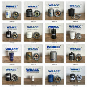 Wbacc Filter Best Selling and High Quality Diesel Fuel Filter Water Separator R120p pictures & photos