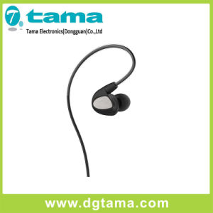 3.5mm Moving Iron and Moving Coil Stereo in-Ear Earphone pictures & photos