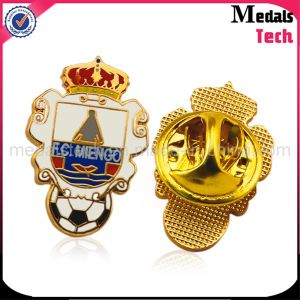 Gold Plated Custom Eagle Shape Quality Military Badges pictures & photos