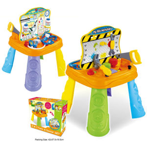 Plastic Kids Play Set 2 in 1 Toys Tool Set & Doctor Set for Boys (H5931030) pictures & photos