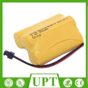 Ni-CD 3.6V 900mAh AA Rechargeable Battery Packs pictures & photos