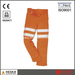 Safety 3m Reflective Tape Hi Vis Men′s Reflective Pants with En20471 pictures & photos