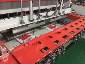 High Speed Double Line Automatic Bag Making Machine (KS-900D) pictures & photos