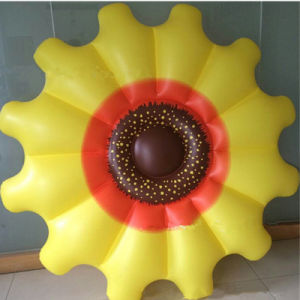 Holiday Family Pool PVC Inflatable Beach Sunflower Float pictures & photos