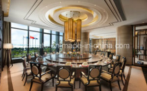 Hotel Furniture/Factory Promotional Dining Set Round Restaurant Table pictures & photos