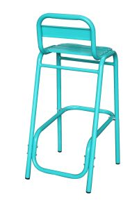 Aluminum Bar Chair Outdoor Furniture Restaurant Barstool Hotel Furniture pictures & photos