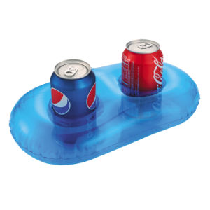 Popular PVC Beach Bum Inflatable Drink Can Holder pictures & photos