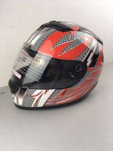 Electric Motorcycle Full Face Helmet for Sale. DOT Certificate pictures & photos