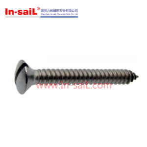 ISO1483 DIN7973 Slotted Raised Countersunk Head Self Tapping Screws pictures & photos