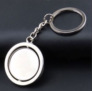 High Quality Round Metal Keychain (MK-031) pictures & photos