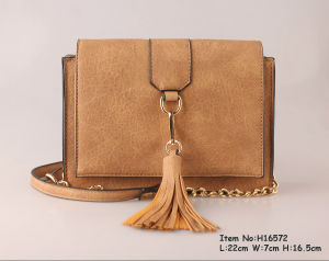 2017 New Fashion Shoulder Bags for Women with Tassel pictures & photos