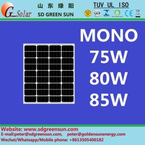 18V 75W-85W Mono Solar Module (2017) pictures & photos