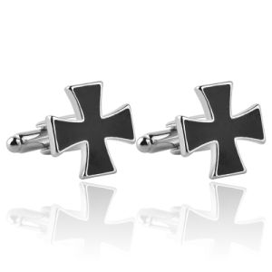 Zinc Alloy Four - Leaf Clover Cufflinks Color Enamel Sleeve Button for Man pictures & photos